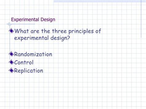 Experimental Design Uq | experimental design