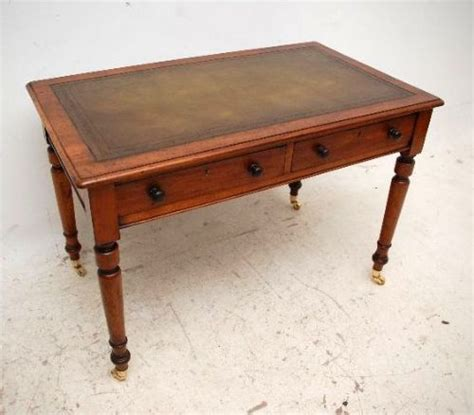 Antique Table Top Desk antique mahogany leather top writing table desk 191611 sellingantiques co uk