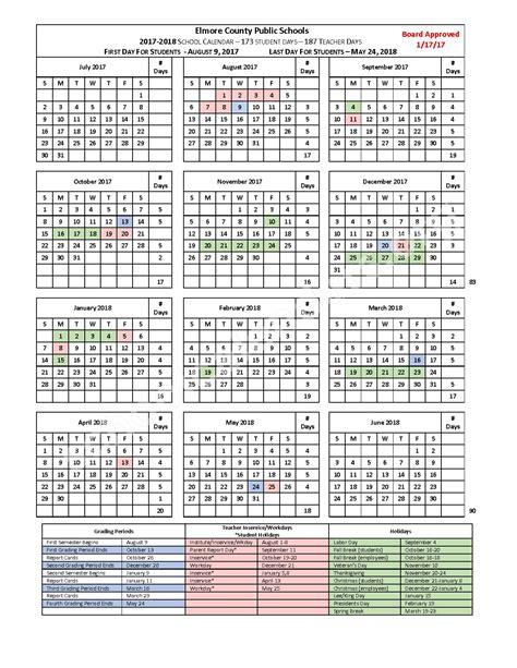 county school district al elmore county schools calendars wetumpka al