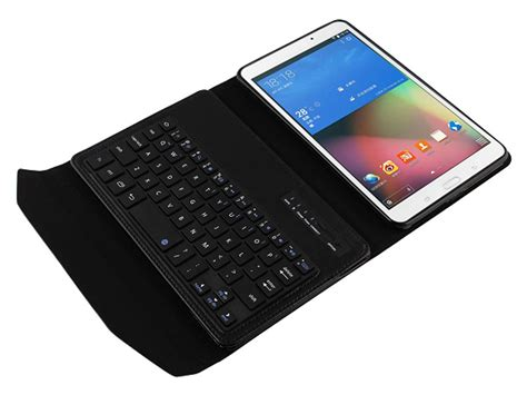 Keyboard Samsung Tab 4 bluetooth keyboard folio voor samsung galaxy tab 4 8 0