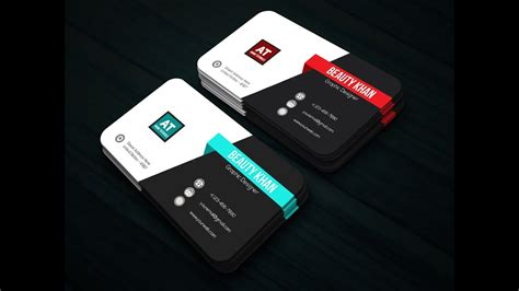 design logo name card adobe illustrator easy tutorial how to make logo name