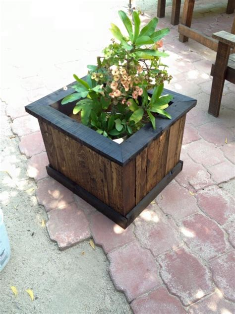 Garden Boxes Ideas Pallet Garden Planter Box Pallet Ideas Recycled Upcycled Pallets Furniture Projects