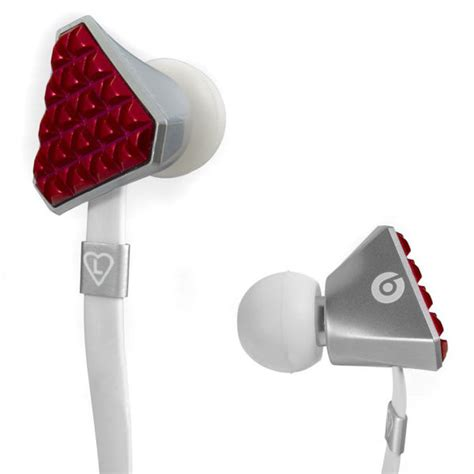 Sale Ladygaga Earphone With Microphone beats by dr dre gaga heartbeats earphones electronics zavvi