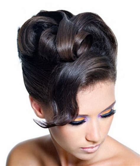 1950 elegant hairstyles 1950s updo updo and vintage updo on pinterest