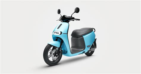 gogoro launches  electric scooter sharing service