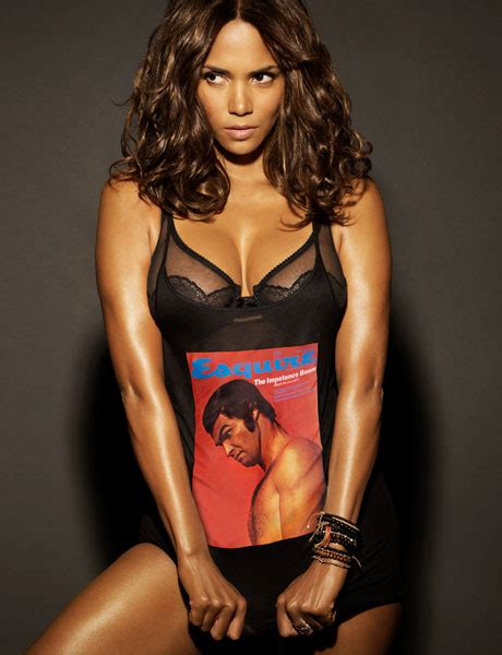 Halle Berry Named Sexiest For 2008 by Esquire Halle Berry Is 2008 S Sexiest Alive Por