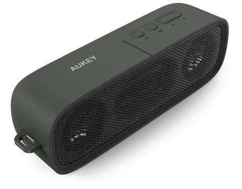 Kualitas Terbaik Sport Wireless Bluetooth With Tf Card Fm aukey wireless premium stereo bluetooth speaker dual 3w