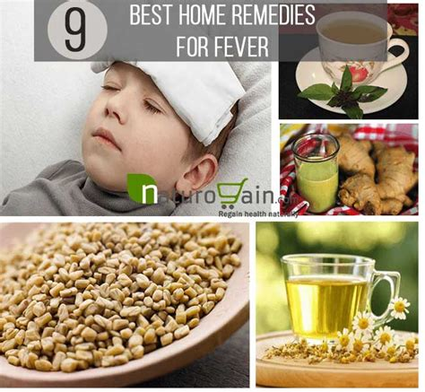 9 safe and best home remedies for fever