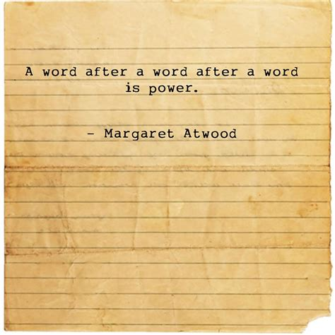 Margaret Atwood Essay by Margaret Atwood Words Writing Books