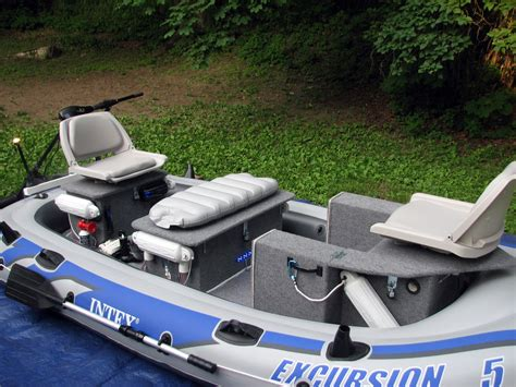 inflatable fishing boat setup intex excursion 5 inflatable mod the hull truth