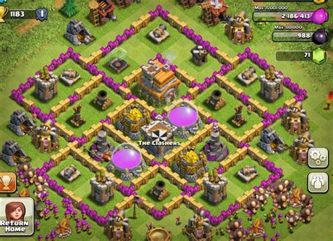 layout coc th6 hybrid how is my base layout page 2