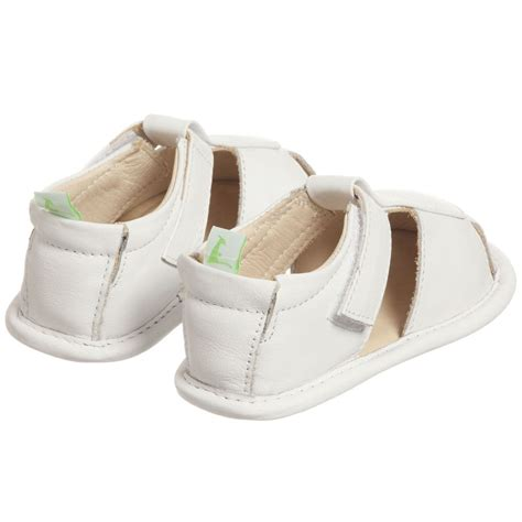 white baby sandals tip toey joey baby white leather sandals childrensalon