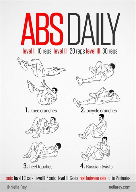 daily ab workouts at home 28 images daily workout plan