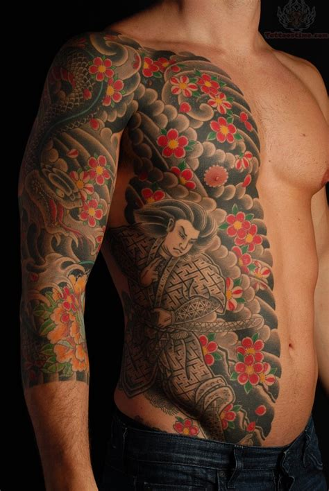 oriental warrior tattoo samurai tattoo images designs