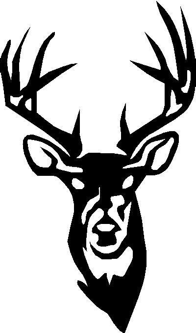 deer outline clipart best
