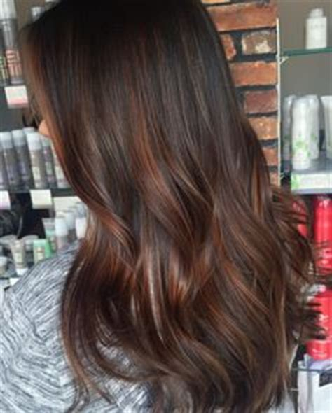 Types Of Highlights For Brown Hair by From Black To Caramel Chocolate Brown Hair Balayage For