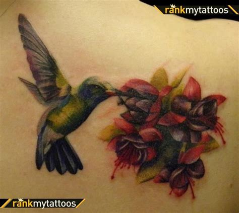 hummingbird with rose tattoos best cover up tattoos hummingbird cover up hummingbird