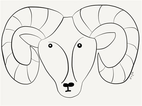 bighorn sheep coloring pages desert bighorn sheep drawing