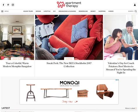 interior design blog apartment therapy top 30 interior design blogs to follow in 2018