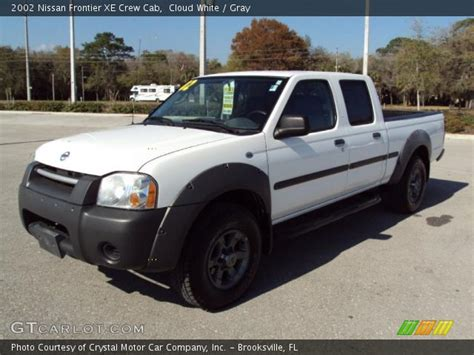 2002 nissan frontier interior cloud white 2002 nissan frontier xe crew cab gray