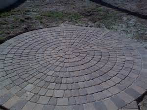 Circular Patio Pavers Circle Patio Orange County Pavers Aloha Pavers Inc