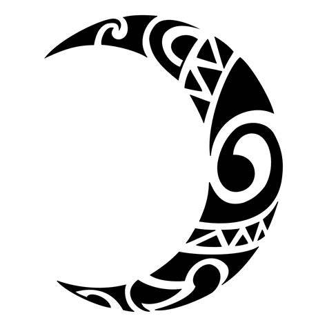 moon tribal tattoo moon tattoos designs ideas and meaning tattoos for you