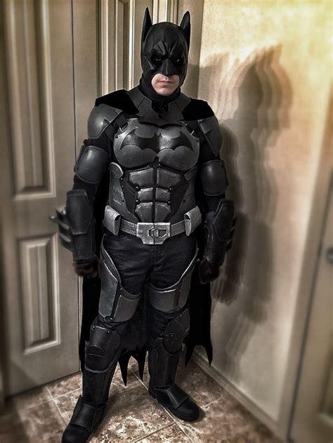 Handmade Batman Costume - batman arkham origins costume made this costume