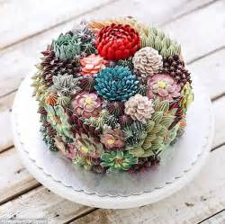 now succulent cakes are the latest wedding trend daily mail online