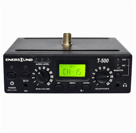 t 500 fm multi channel transmitter