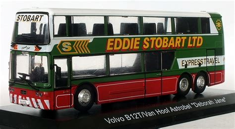 modelbuszone atlas  eddie stobart volvo bt van hool astrobel coach