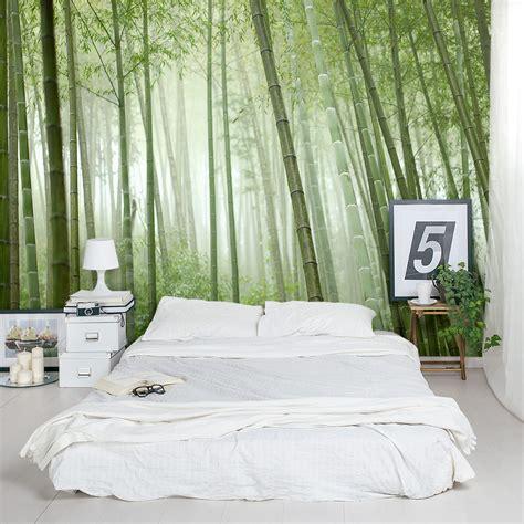 Bamboo Mural Walls - bamboo grove wall mural
