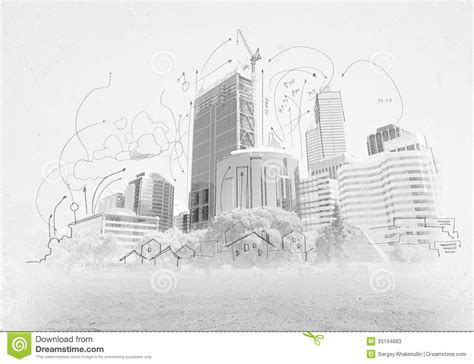 building drawing plan conceptual plan 1333 drawing up construction sketch stock image image of pencil