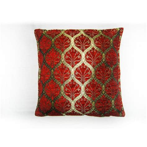 cusion covers ottoman red cushion cover