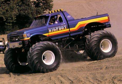bigfoot truck st louis jdk 180 s trucks die truck geschichte