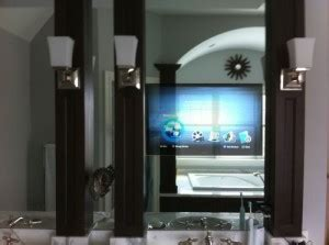 tv behind bathroom mirror turning your bathroom remodeling project into a spa