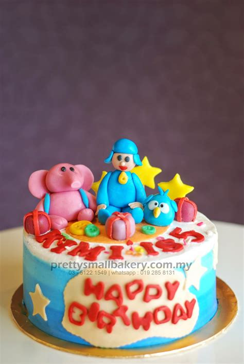 Bantal Foto Custom Printing Bantal Artis Holywood kek birthday pocoyo prettysmallbakery