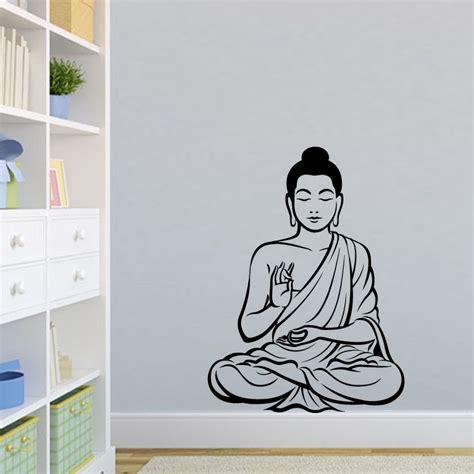 buddha wall sticker buy wholesale buddha wall stickers from china