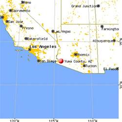 yuma california map yuma county arizona detailed profile houses real