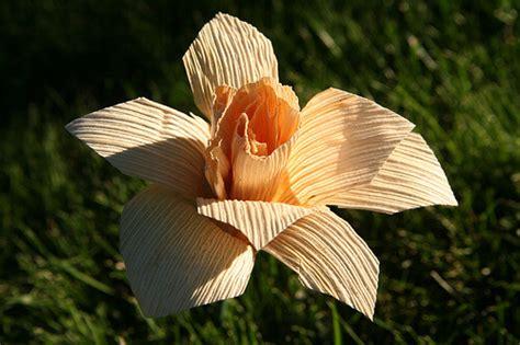membuat bunga  kulit jagung mudah  unik video
