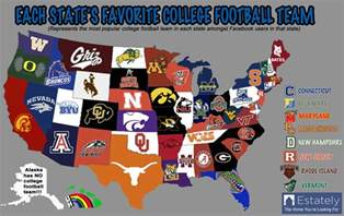 us map by college football boston college vs umass football battle of the bay state