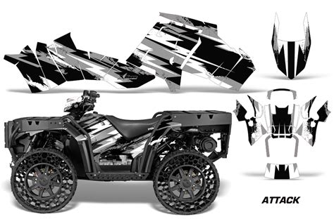 Quad Aufkleber Kit by Polaris Sportsman Wv 850 Atv Quad Graphic Kit 2012 2016
