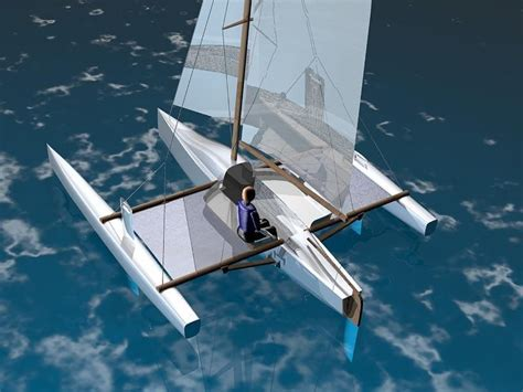 trimaran yacht plans trimaran boat design pdf diy trimaran boat cradle plans