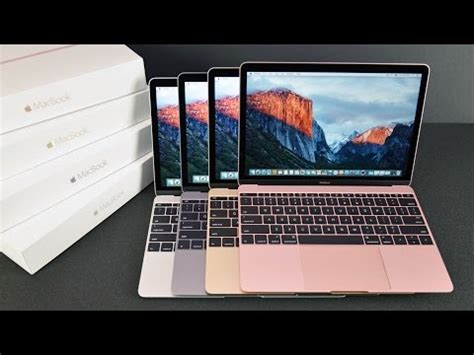 apple macbook 12 inch (2016): unboxing & review (all colors)
