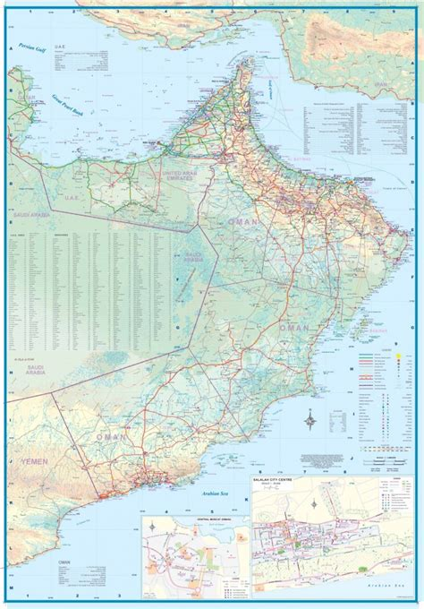 map uae and oman dubai uae oman map new