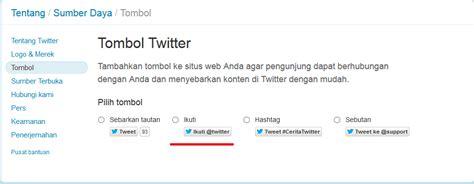 membuat follow twitter di blog cara membuat tombol follow me twitter di blog adi hamdani