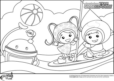 Team Umizoomi Coloring Pages Team Colors Team Umizoomi Coloring Pages