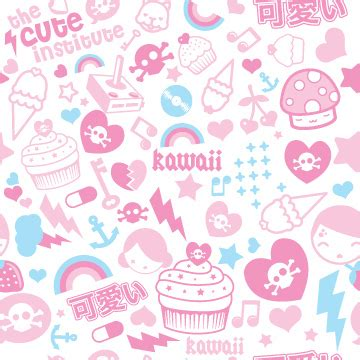 kawaii pattern | kawaii pattern i made and use as