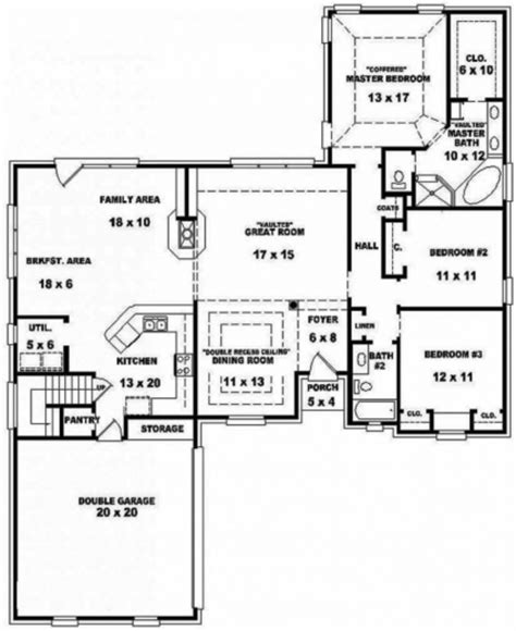 open split floor plans remarkable one story house plans with open floor design