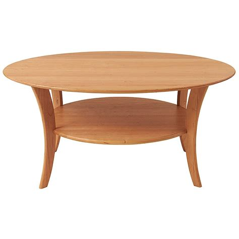 Oval Wood Coffee Table Oval Cherry Coffee Table Cherry Tables Manchesterwood