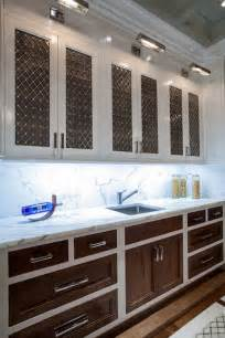 Wooden Kitchen Doors And Drawer Fronts The Renovated Home Kitchens White Cabinets With Wood Door Fronts Two Tone Kitchen White